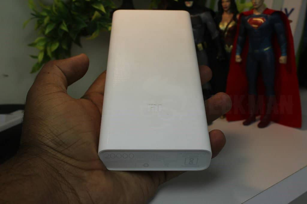 20000 mAH Mi Power bank 2i