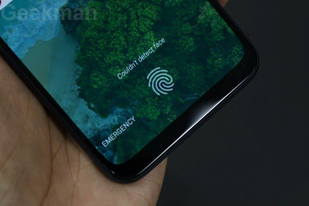 Xiaomi Mi A3 display scanner