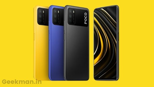 POCO M3 launched in India
