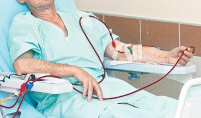Terapi penyakit gagal ginjal kronik melalui cuci darah