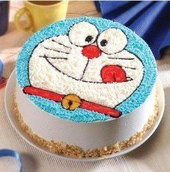 1.5 Kg Doraemon cartoon themed cake