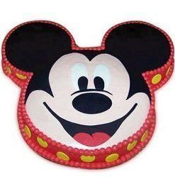 2 Kg Micky Mouse design cartoon themed cake