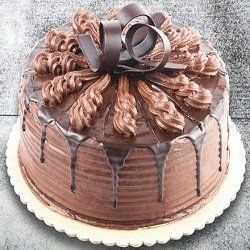 Egg Less Rich Chocolate Cake 1 Kg