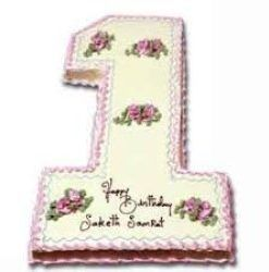 Number cake 1 kg on birthday to remember Bday in a special way