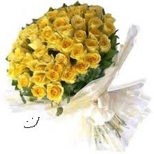 Bouquet of Beautiful 40 Yellow Roses