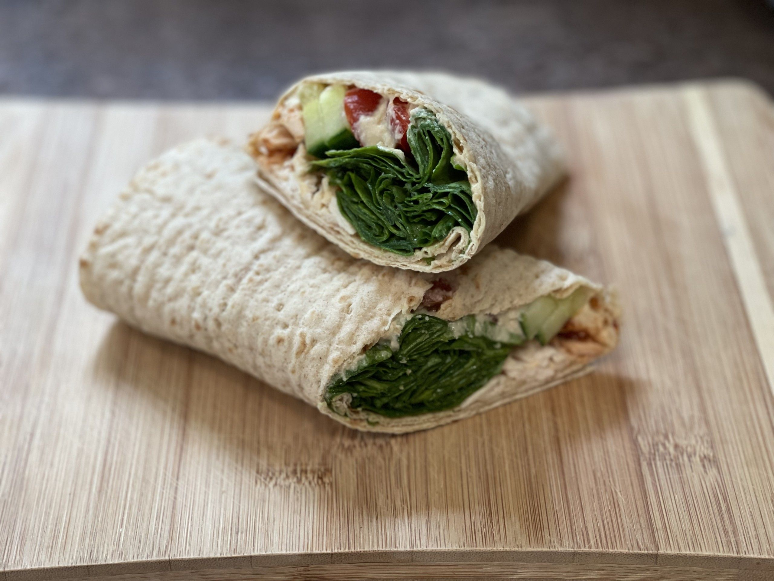 Spinach Protein Wrap