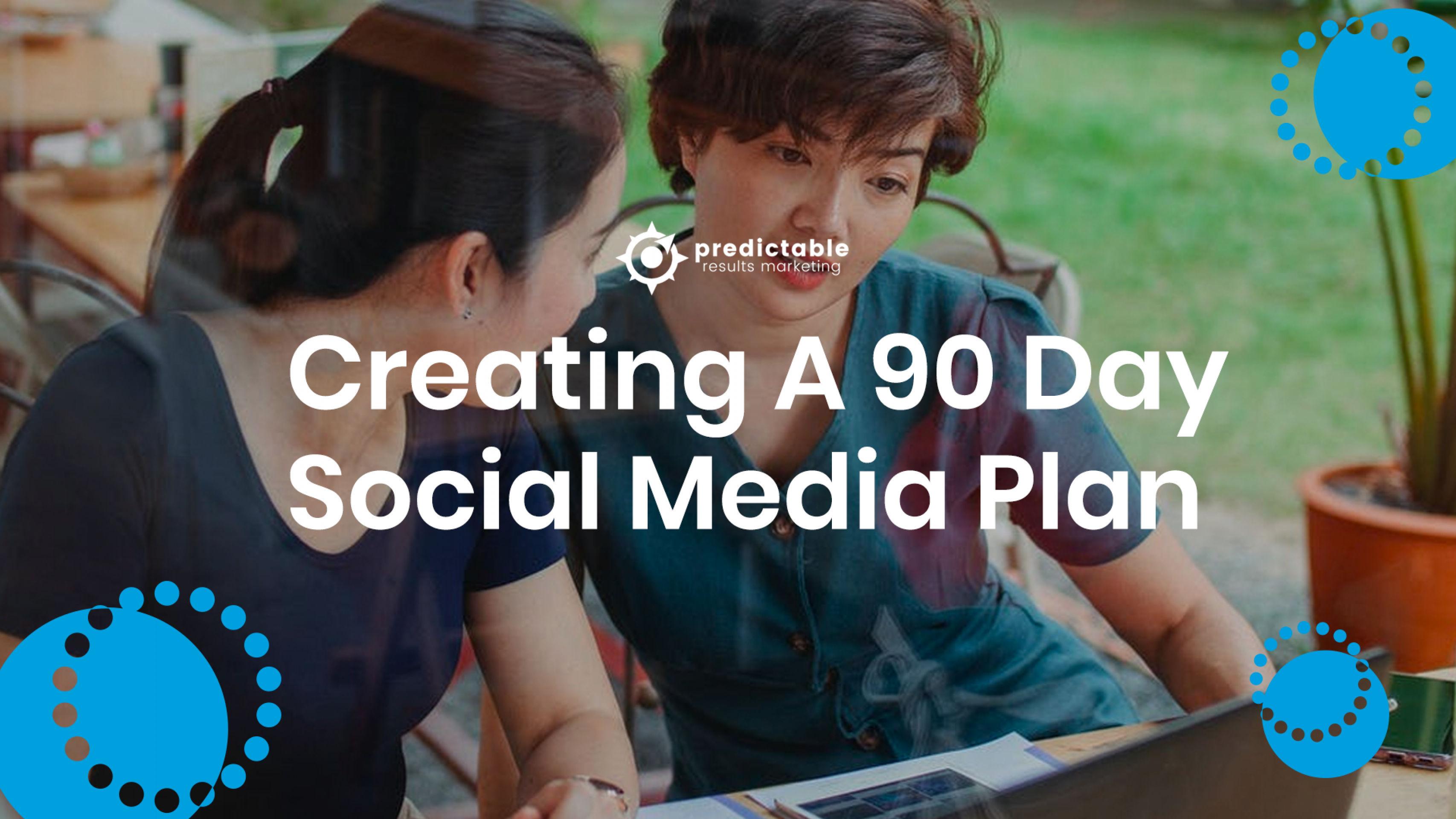 Creating a 90 Day Social Media Plan