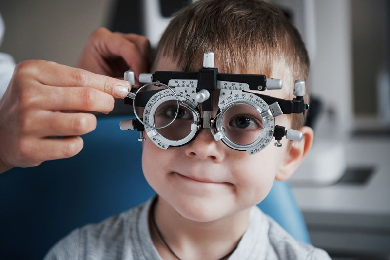 problems with reading can be evaluated through an eye exam.