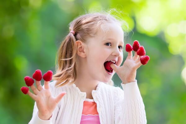 Berries are a type of Eye Healthy School Snacks