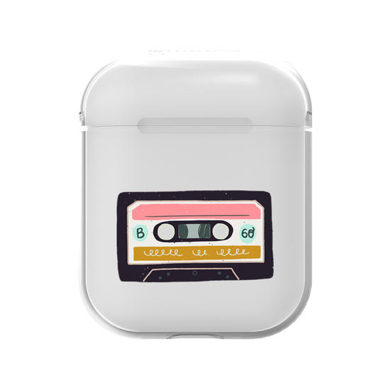 AirPods Case - Music Tape