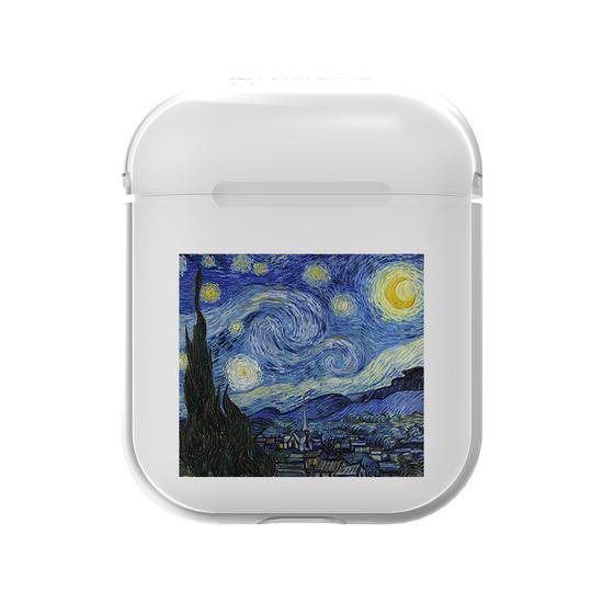 Airpods Case - Van Gogh - Noite Estrelada