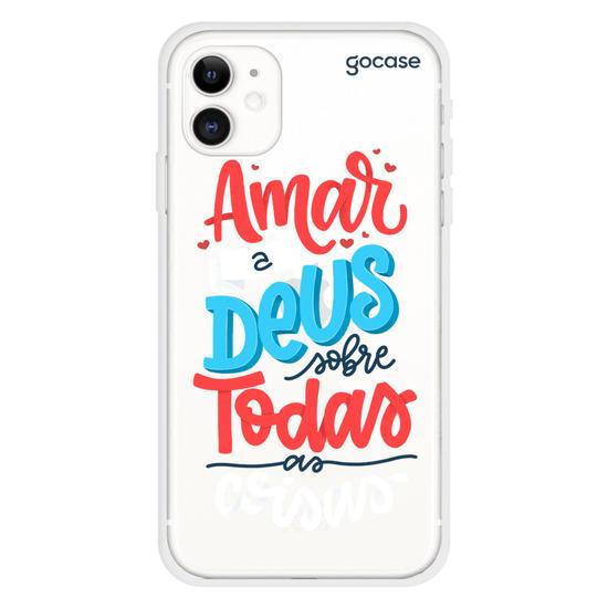 Capinha para celular Amar a Deus