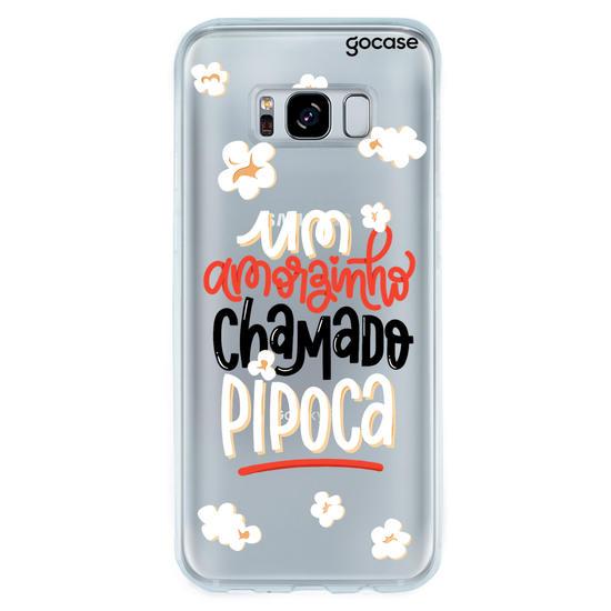 Capinha para celular Amor de Pipoca