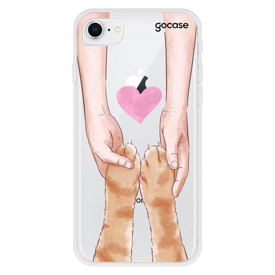 Capinha para celular Amor Pet - Gato