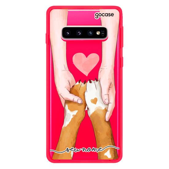 Capinha para celular Amor Pet - Cachorro