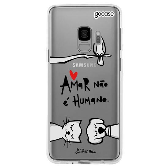 Capinha para celular Amor Animal