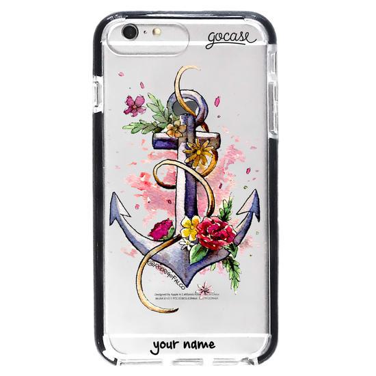 Floral Anchor Phone Case