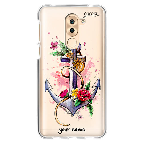 Floral Anchor Phone Case