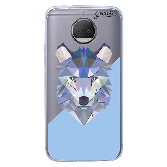 Capinha para celular Animal Geométrico - Lobo