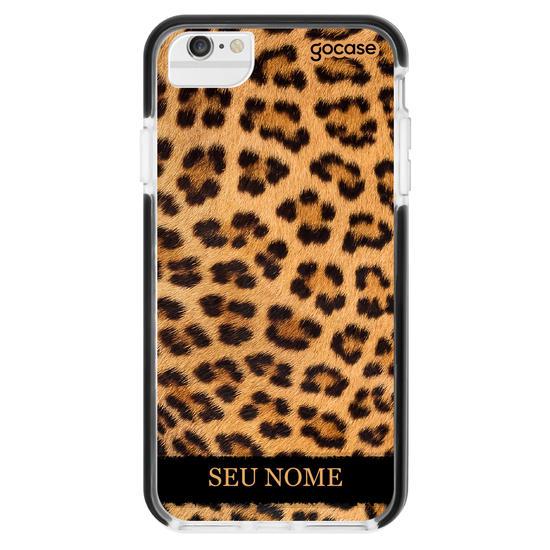 Capinha para celular Animal Print - Jaguar Customizável