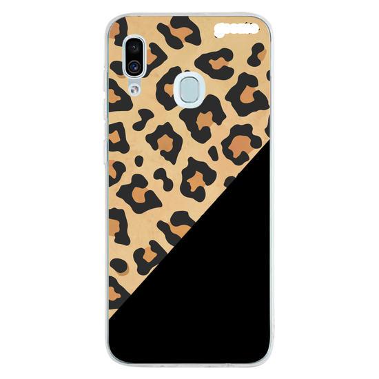 Capinha para celular Animal Print - Onça Abstrato