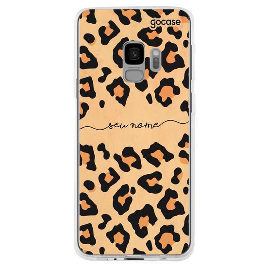 Capinha para celular Animal Print - Onça