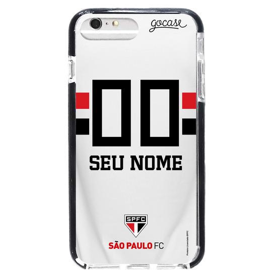 Capinha para celular Anti-Impacto PRO - São Paulo - Uniforme 1 (2019)