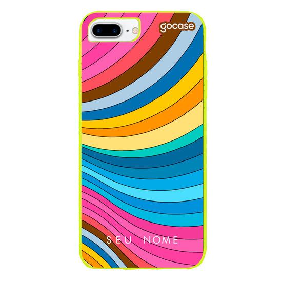 Capinha para celular Arco íris doce