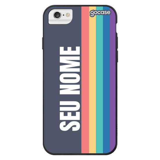 Capinha para celular Arco-íris Vintage