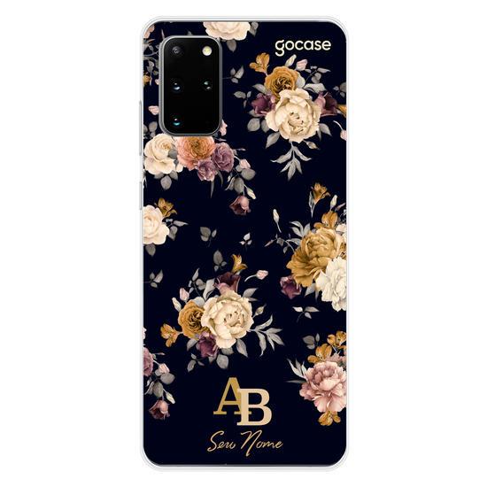 Capinha para celular Arranjos Dourados