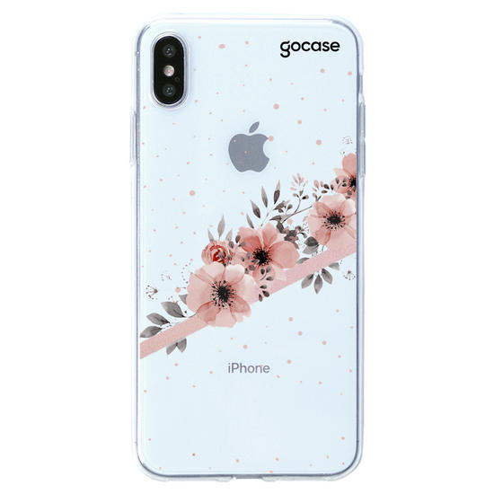 Capinha para celular Arranjos Rosé Clean Customizable