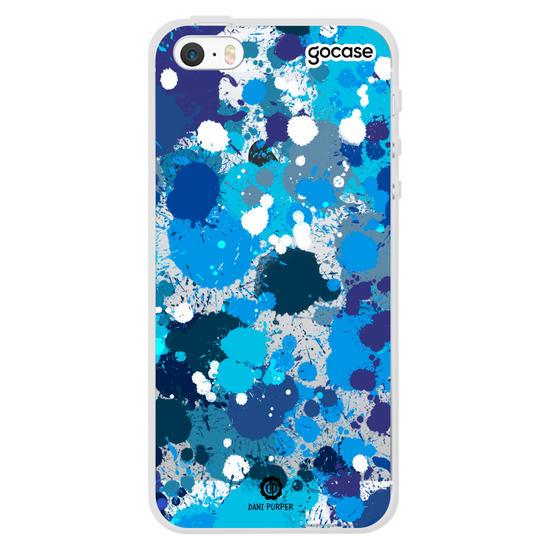 Capinha para celular Art Blue