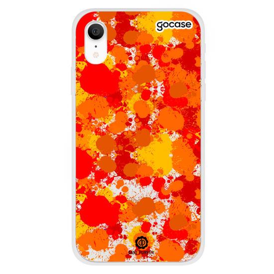 Capinha para celular Art Orange