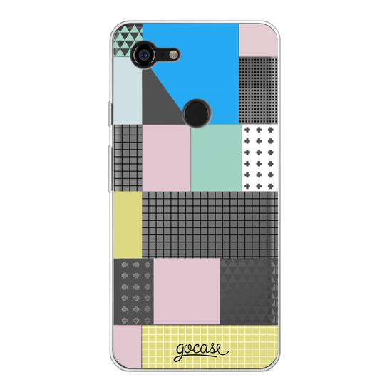 Asymmetrical Blocks   Phone Case