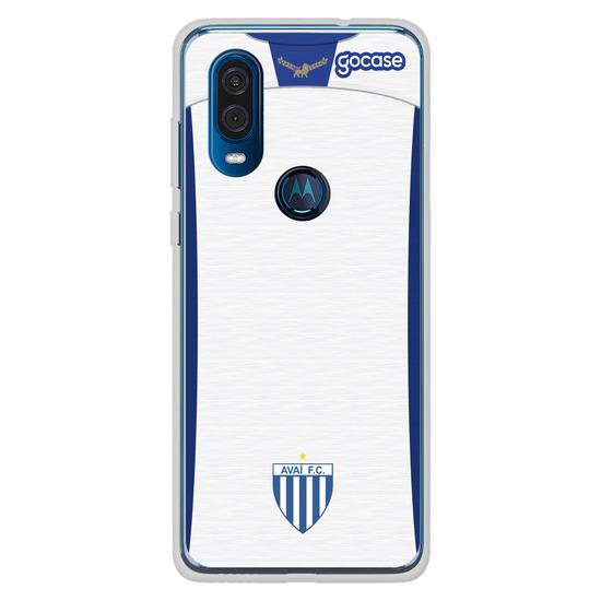 Capinha para celular Avaí - Uniforme 2 2020 Personalizado