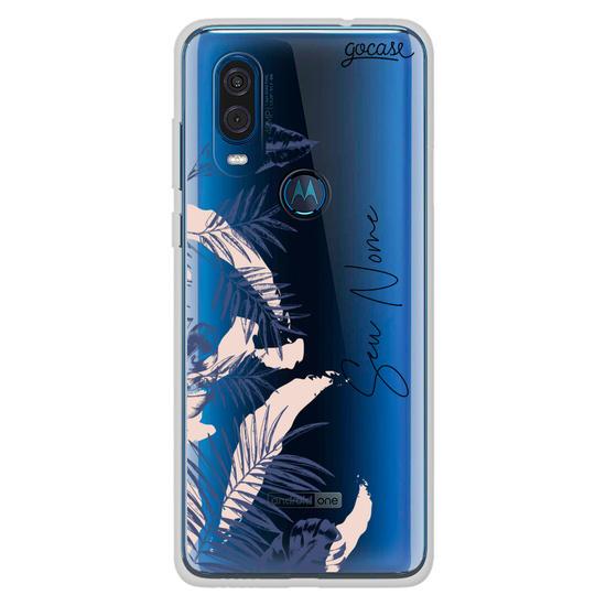 Capinha para celular Azul Tropical