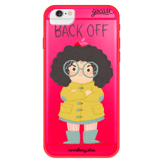 Back Off Phone Case