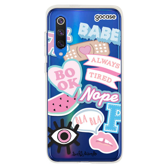 Capinha para celular Beautiful Patches