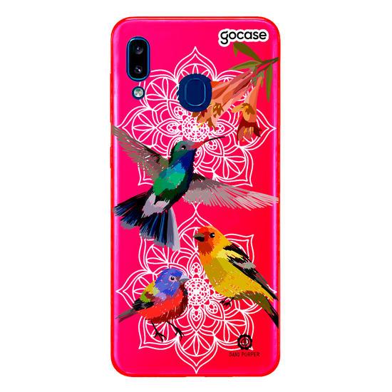 Capinha para celular Beija-flor
