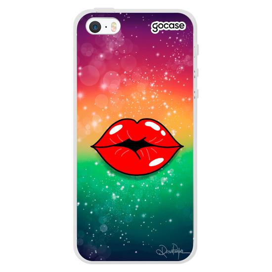 Capinha para celular Beijo Astral