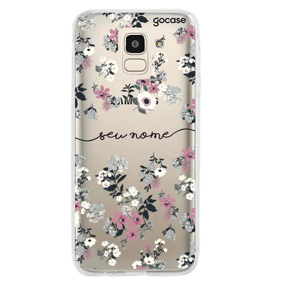 Capinha para celular Bem Floral Manuscrita