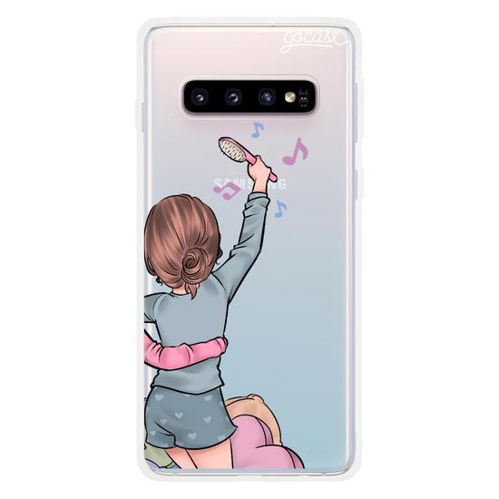 Capinha para celular BFF Festa do Pijama Personalizável Direita