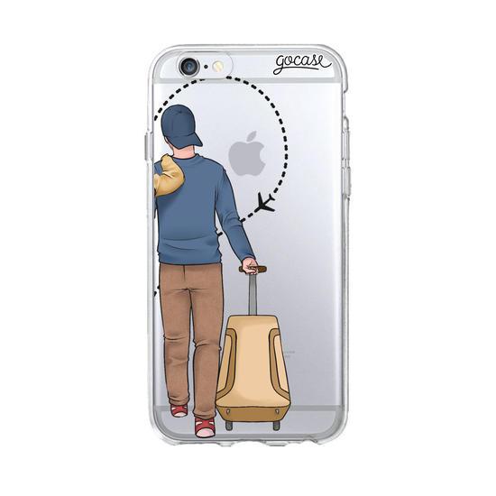 Funda BFF Around the World Couple - Man para iPhone XS Max