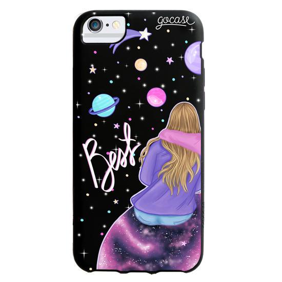 Black Case - BFF - Universe (left) Phone Case