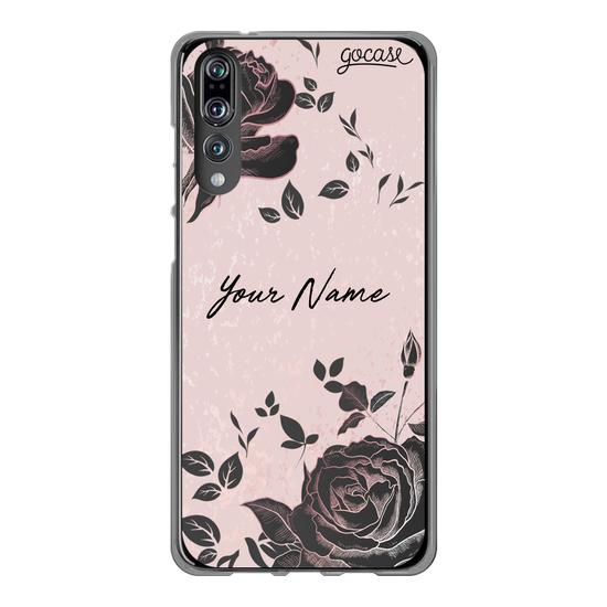 Black Pink Rosé Customizable Phone Case