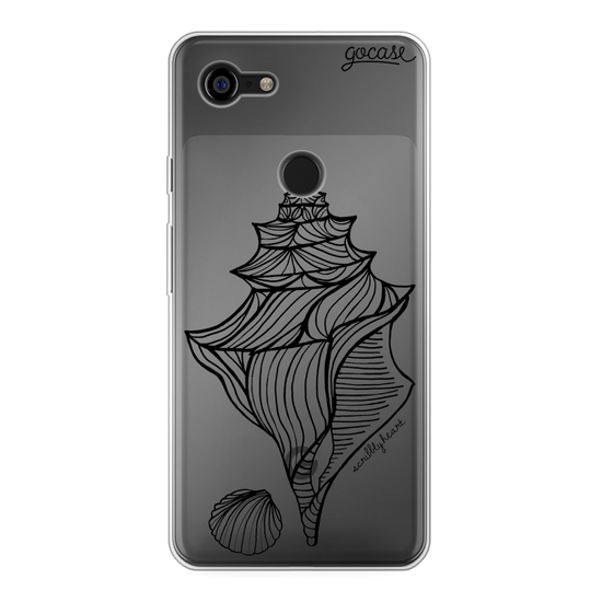 Black Shell Phone Case