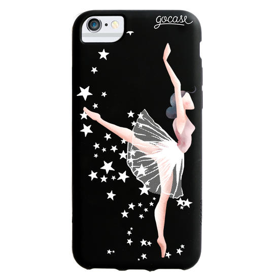 Black Case  Like a Ballerina Phone Case