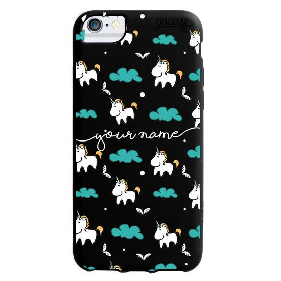 Black Case  Unicorn Phone Case