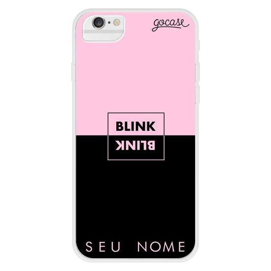 Capinha para celular Blink - Pink And Black