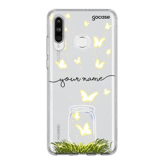 Butterfly Jar Handwritten Phone Case